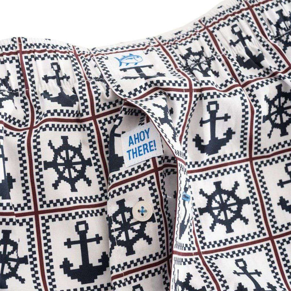 Southern Tide Ahoy There Boxer Shorts by Southern Tide