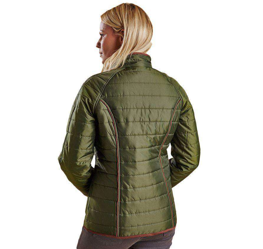 Fell Polarquilt Jacket in Olive by Barbour  - 2
