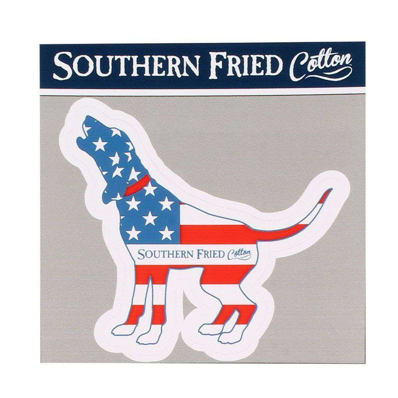 American Hound Decal by Southern Fried Cotton