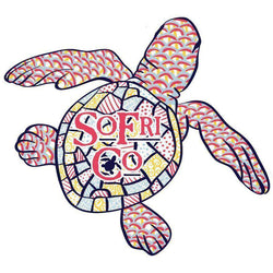 Baby Sea Turtle Sticker by Southern Fried Cotton
