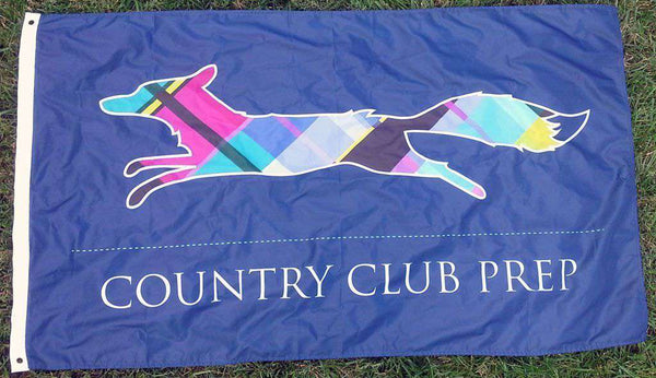 Flags & Stickers - Country Club Prep 3' X 5' Flag In Navy