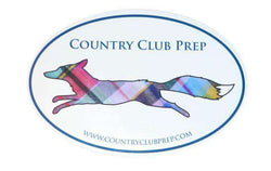 "Flags & Stickers - Country Club Prep ""Longshanks"" Window Sticker"