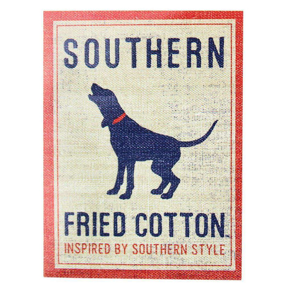 Flags & Stickers - Howlin' Hound Logo Sticker By Southern Fried Cotton