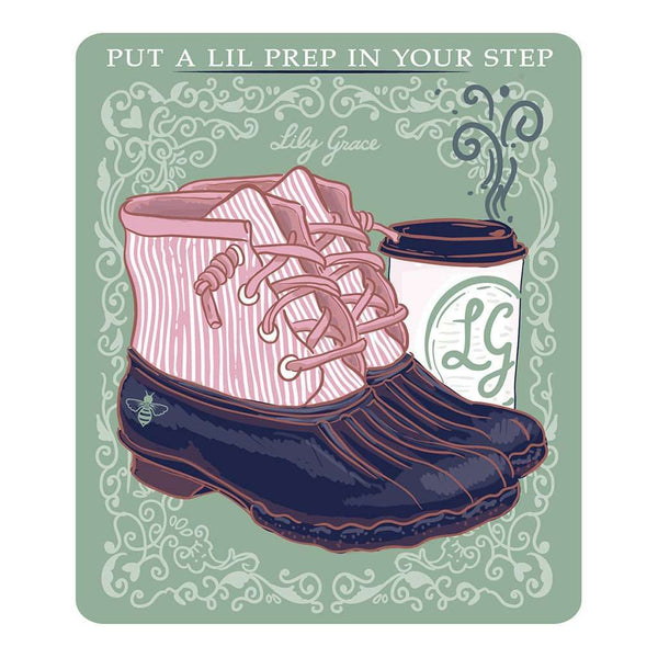 Prep in Your Step Decal by Lily Grace - FINAL SALE