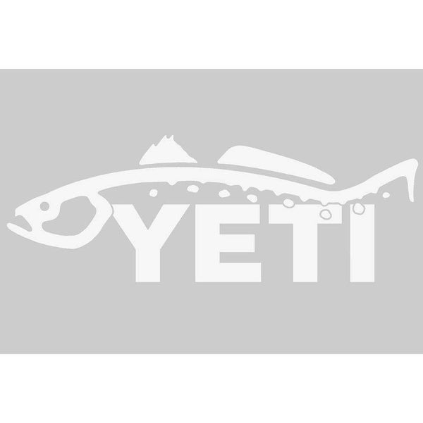 Flags & Stickers - Trout Window Sticker By YETI