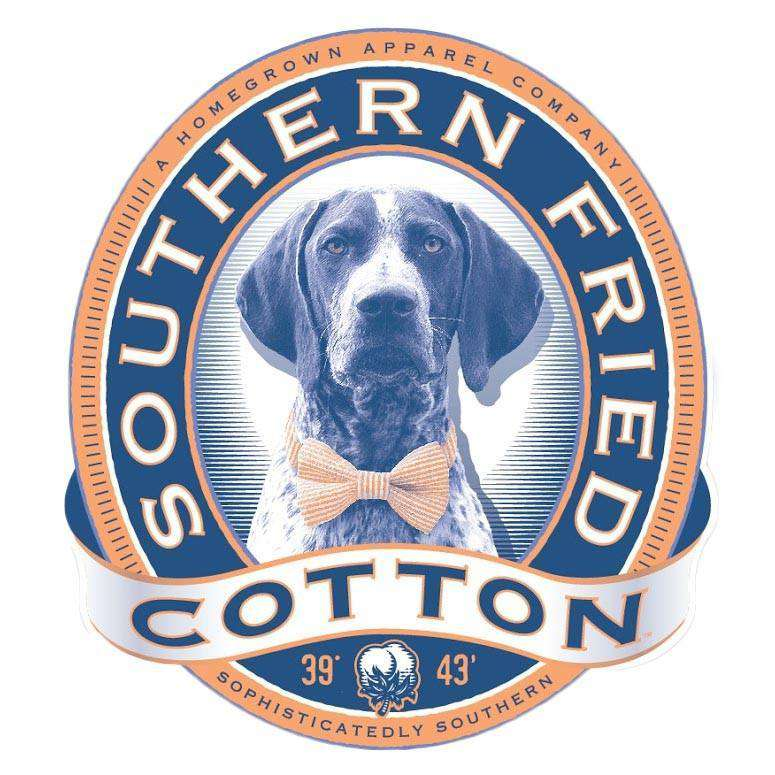 Winston II Sticker by Southern Fried Cotton