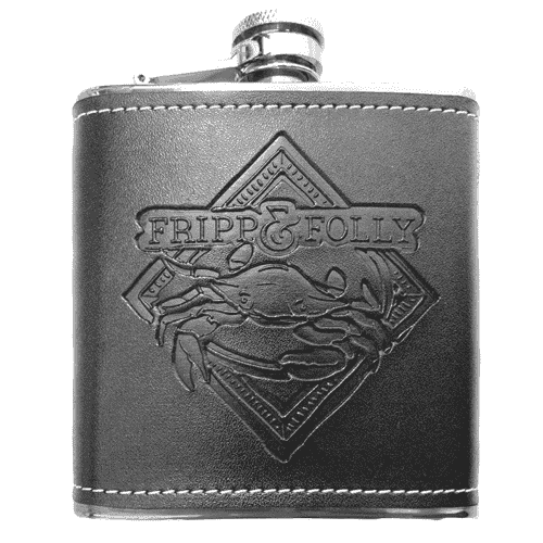 Flasks - Crab Flask By Fripp And Folly