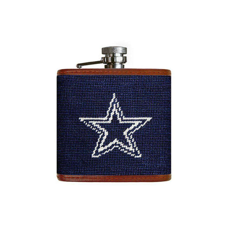 Dallas Cowboys Needlepoint Flask by Smathers & Branson
