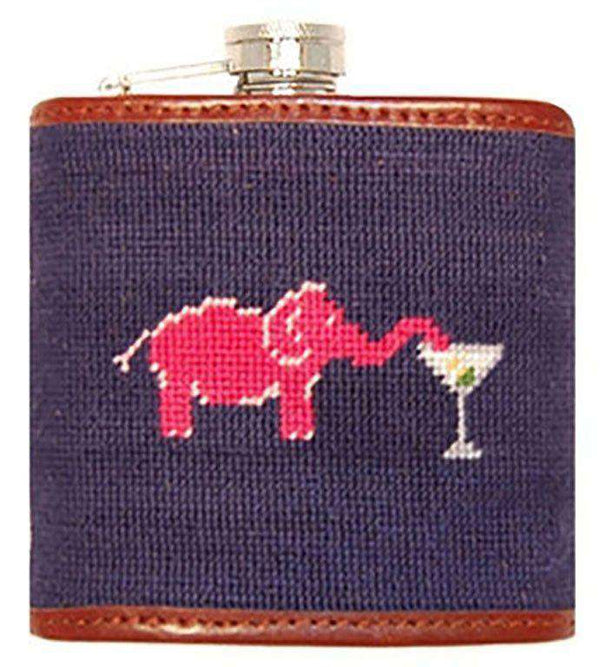 Flasks - Elephant Martini Flask By Smathers & Branson