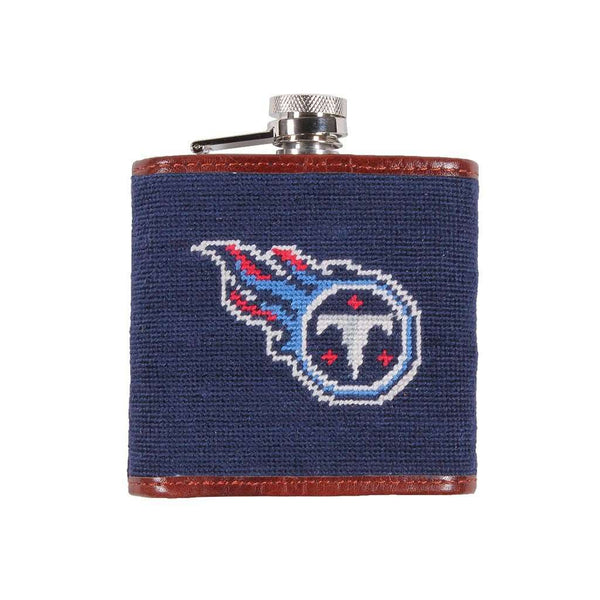 Tennessee Titans Needlepoint Flask by Smathers & Branson