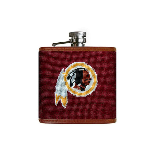 Washington Redskins Needlepoint Flask by Smathers & Branson