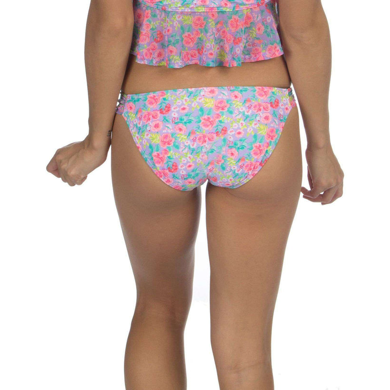 Bikini Bottom in Summer Floral by Lauren James  - 2