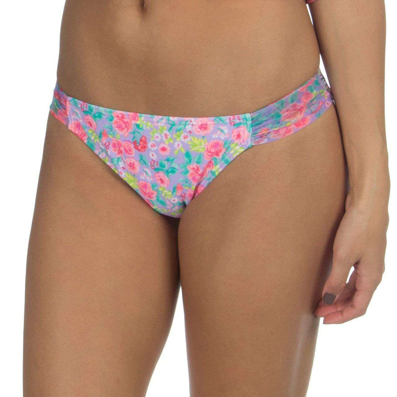 Bikini Bottom in Summer Floral by Lauren James  - 1