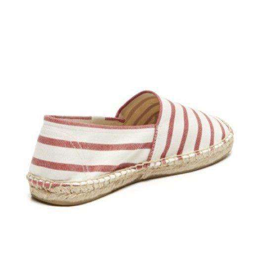 Classic Stripe Espadrille in Red and White by Soludos  - 2