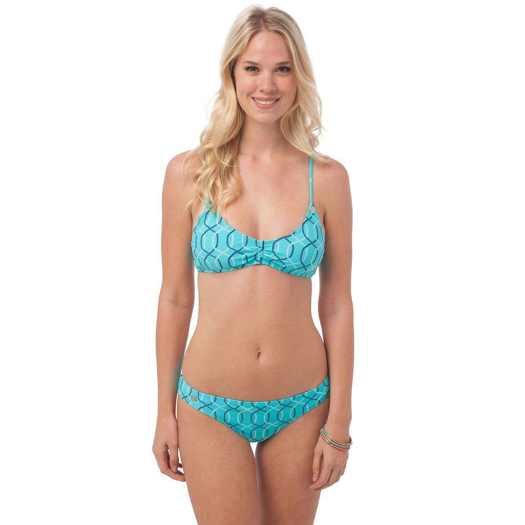 Surfside Bikini Bottom in Nautical Rope by Southern Tide  - 1