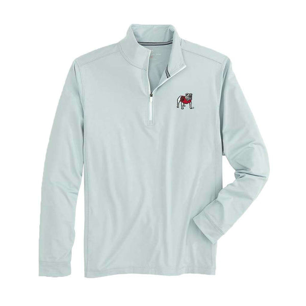 Southern Tide Georgia Gameday Performance 1/4 Zip Pullover by Southern Tide