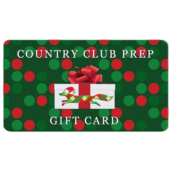 Gift Card - Longshanks Gift Card By Country Club Prep