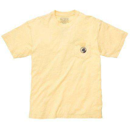 Go for it in Two Golf Tee in Yellow by Southern Proper  - 2