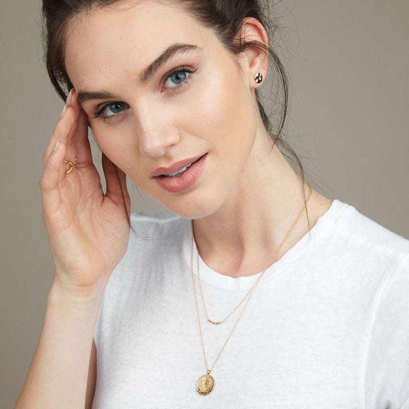 Gorjana Taner Mini Bar Necklace by Gorjana