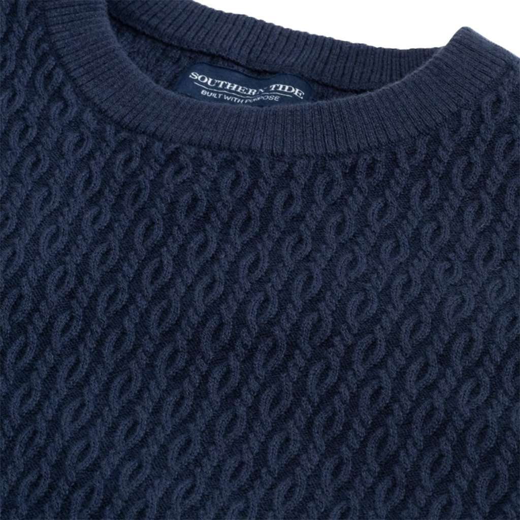 Grove Crewneck Pullover Sweater by Southern Tide