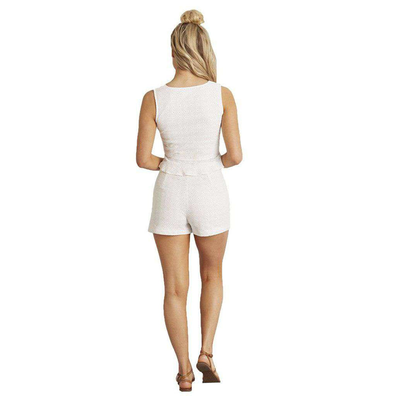 Lauren James Catalina Eyelet Shorts by Lauren James