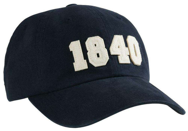 Hats/Visors - 1840 (Bourbon Founding Year) Hat In Navy By Southern Proper
