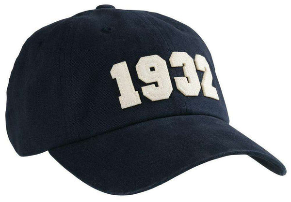 Hats/Visors - 1932 (SEC Founding Year) Hat In Navy By Southern Proper