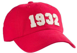 Hats/Visors - 1932 (SEC Founding Year) Hat In Red By Southern Proper