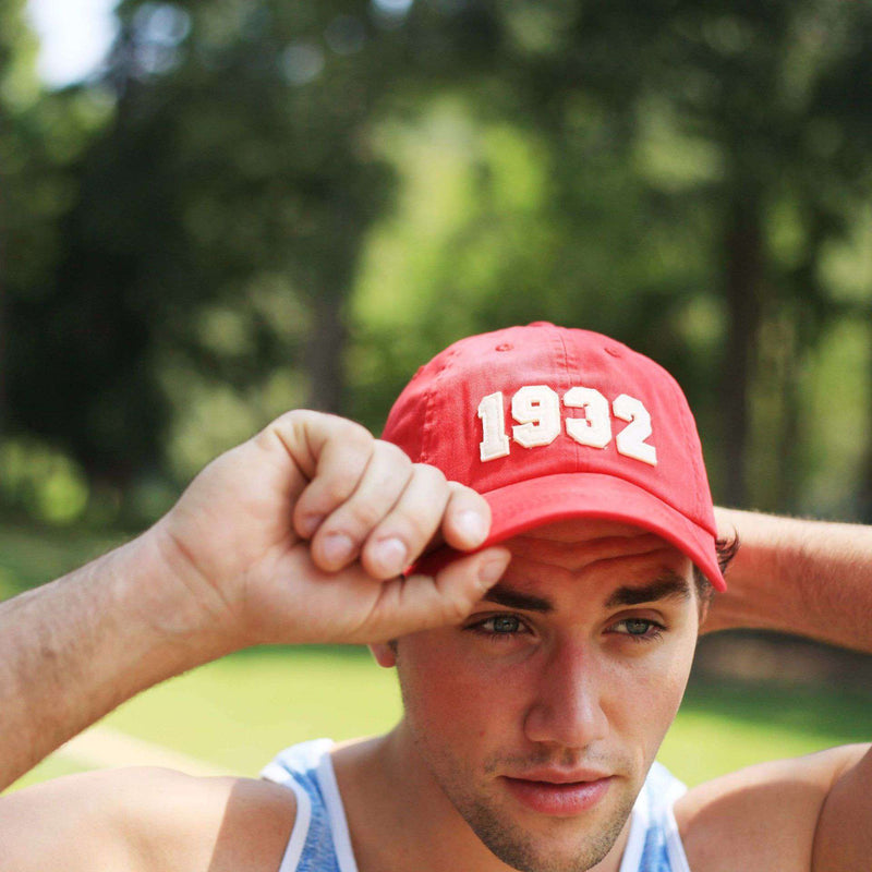 1932 (SEC Founding Year) Hat in Red by Southern Proper