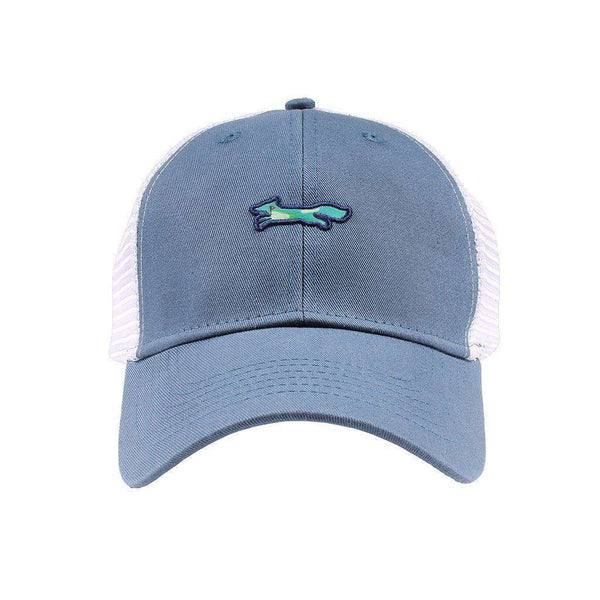 Hats/Visors - 19th Hole Longshanks Mesh Hat In Blue By Imperial Headwear