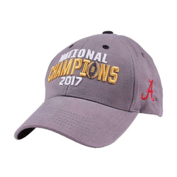 2017 Alabama National Champions Hat by National Cap & Sportswear - FINAL SALE