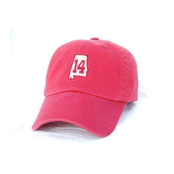 Hats/Visors - AL 14 Hat In Crimson By State Traditions