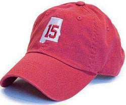 Hats/Visors - AL 15 Hat In Crimson By State Traditions