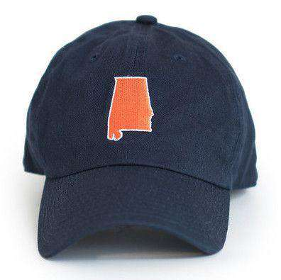 AL Auburn Gameday Hat in Navy by State Traditions