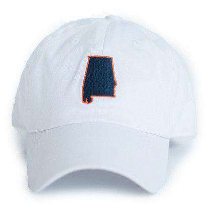 AL Auburn Gameday Hat in White by State Traditions
