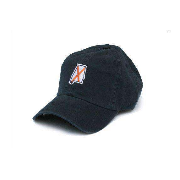 Hats/Visors - AL Auburn Traditional Hat In Navy By State Traditions
