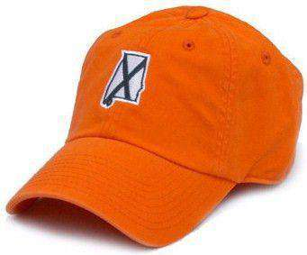 Hats/Visors - AL Auburn Traditional Hat In Orange By State Traditions