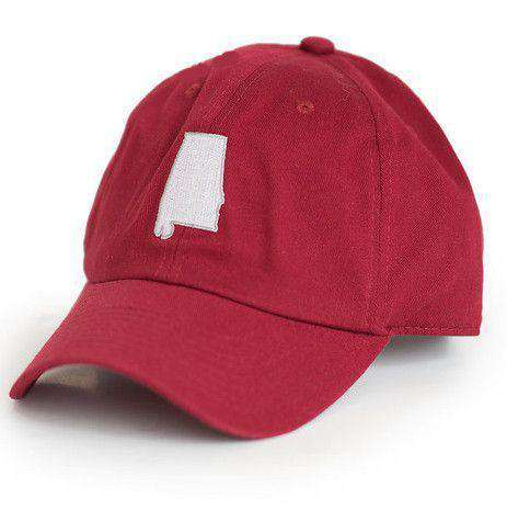 Hats/Visors - AL Tuscaloosa Gameday Hat In Crimson By State Traditions