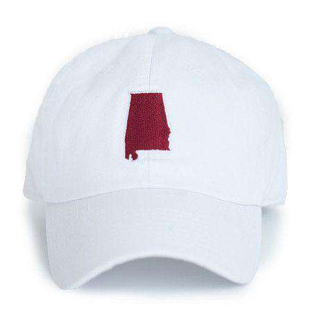 AL Tuscaloosa Gameday Hat in White by State Traditions