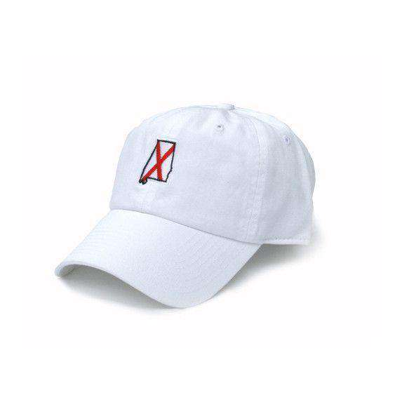 Hats/Visors - AL Tuscaloosa Traditional Hat In White By State Traditions