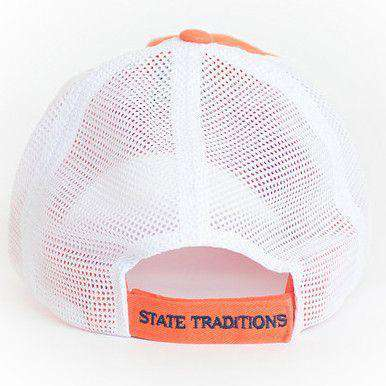 Hats/Visors - Alabama Auburn Gameday Trucker Hat In Orange By State Traditions
