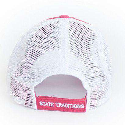 Hats/Visors - Alabama Tuscaloosa Gameday Trucker Hat In Crimson By State Traditions