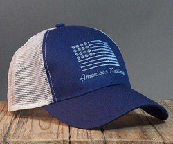 Hats/Visors - America's Pastime Mesh Hat In Navy By Rowdy Gentleman
