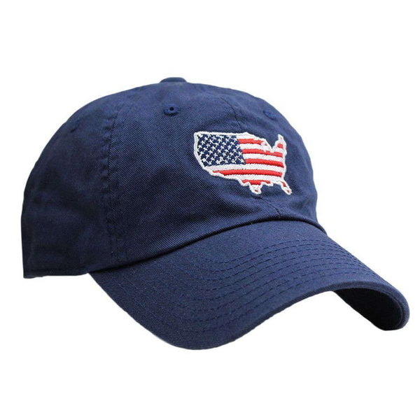 America Traditional Hat in Navy by State Traditions - Country Club Prep