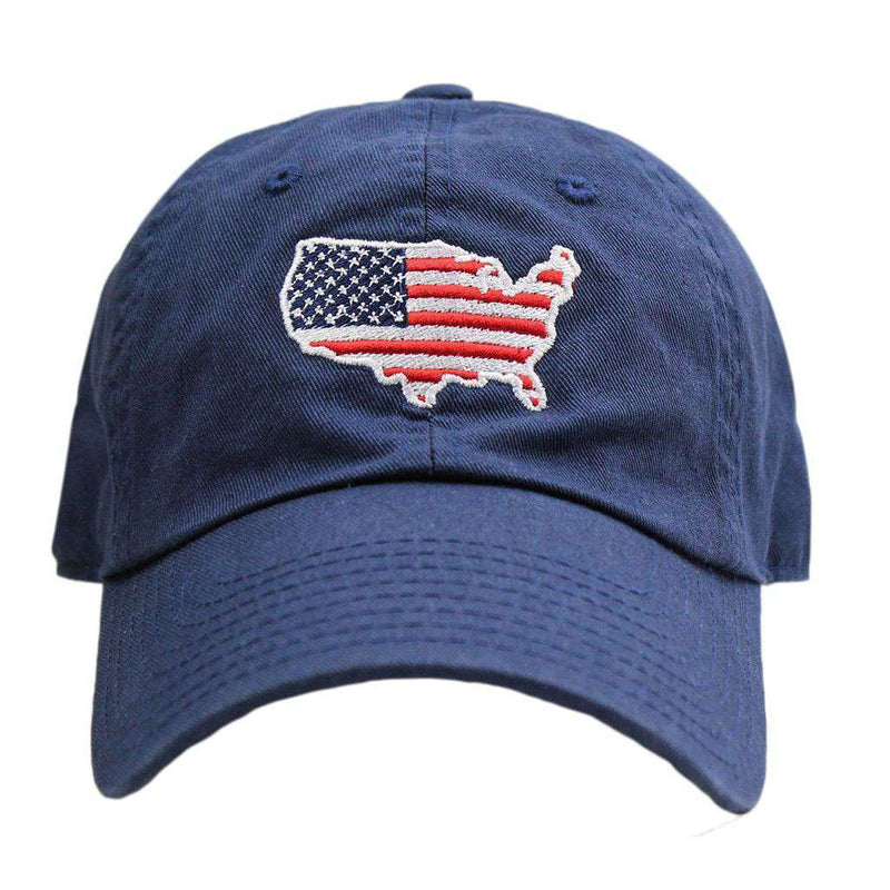 Hats/Visors - America Traditional Hat In Navy By State Traditions