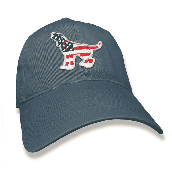 Hats/Visors - American Hound Hat In Lake Blue By Southern Fried Cotton