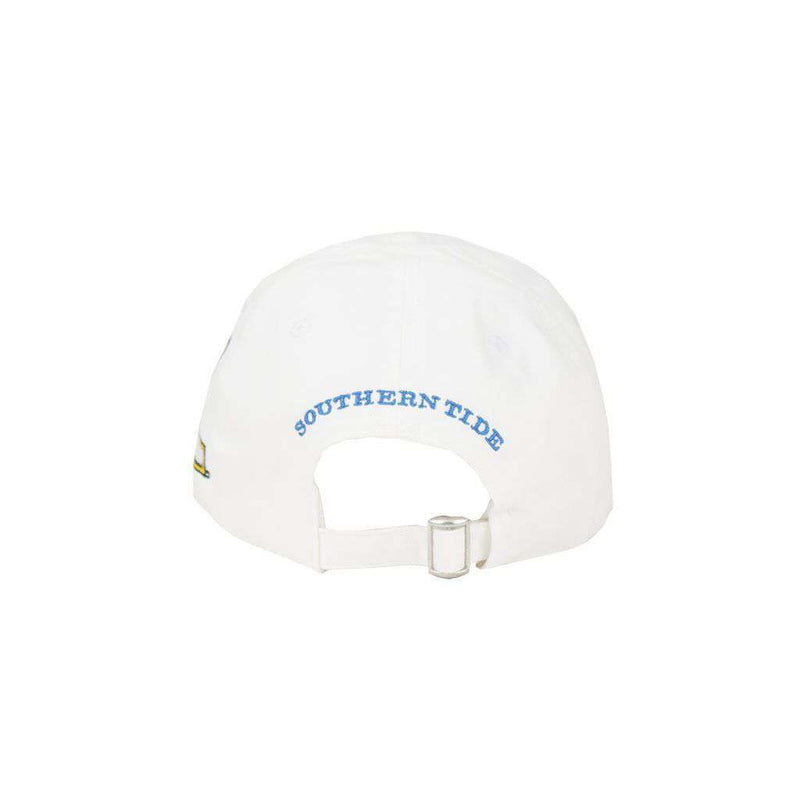 Hats/Visors - Appalachian State Collegiate Skipjack Hat In White By Southern Tide - FINAL SALE