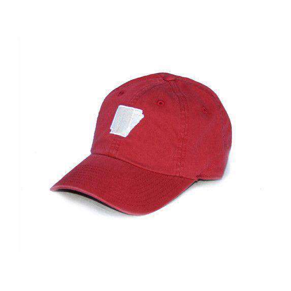 Hats/Visors - AR Fayetteville Gameday Hat In Red By State Traditions