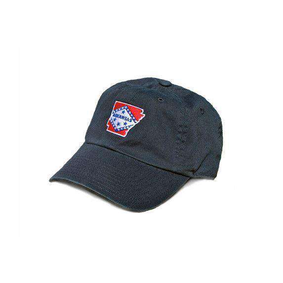 Hats/Visors - AR Traditional Hat In Navy By State Traditions