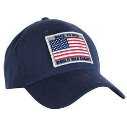 b4069a66276 Hats Visors - Back To Back World War Champs All Twill Snapback Hat In Navy